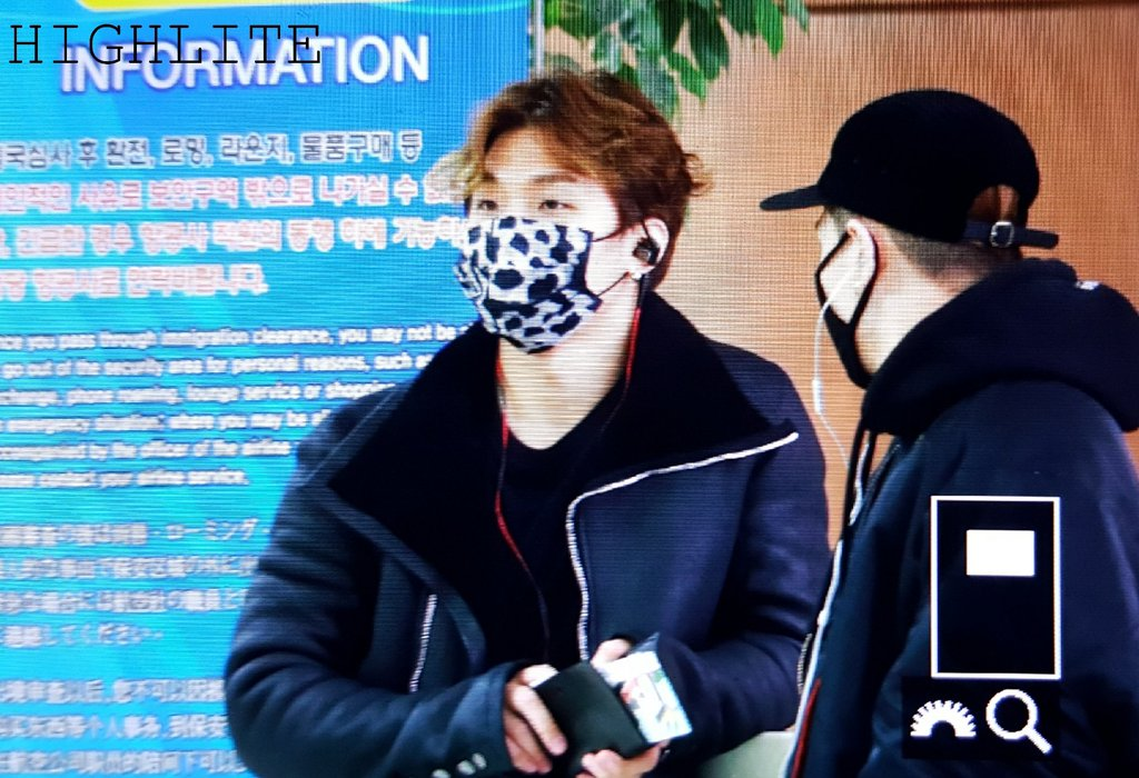 BIGBANG - Gimpo Airport - 31jan2016 - High Lite - 01