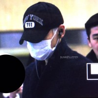 BIGBANG - Gimpo Airport - 31jan2016 - Bunnyslipper - 01