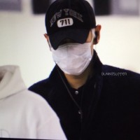 Big Bang - Gimpo Airport - 31jan2016 - Bunnyslipper - 02