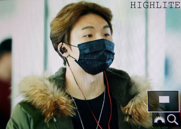 Daesung Arrival Seoul From Tokyo 2016-02-09 (2)