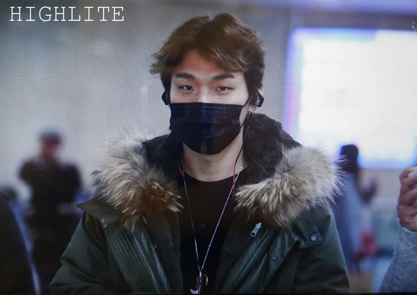 Daesung Arrival Seoul From Tokyo 2016-02-09 (5)
