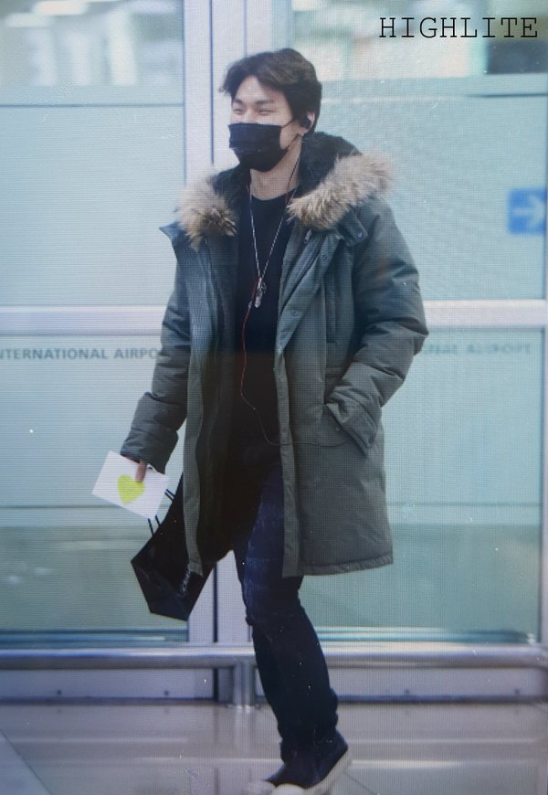 Daesung Arrival Seoul From Tokyo 2016-02-09 (8)