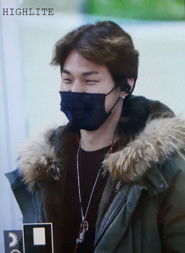 Daesung Arrival Seoul From Tokyo 2016-02-09 (9)
