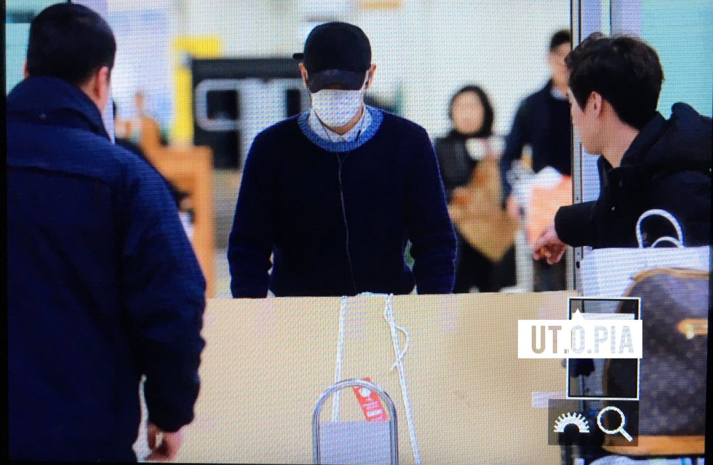 TOP Arrival Seoul From Japan 2016-02-12 (2)