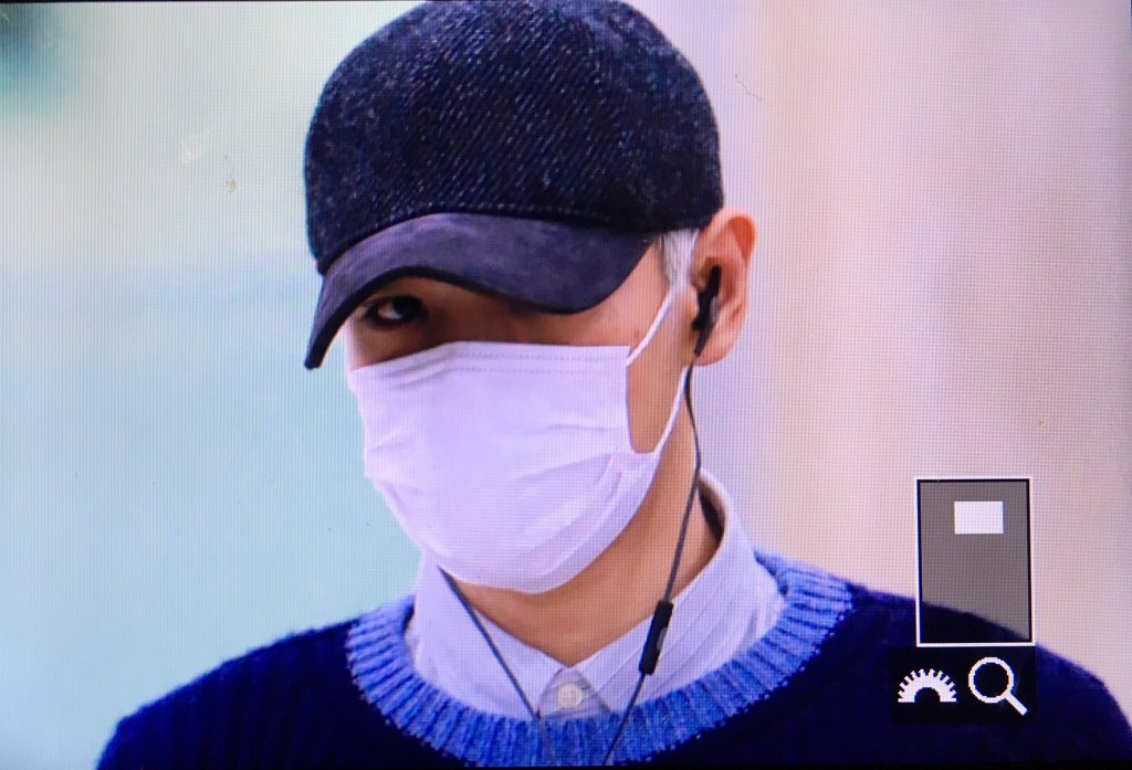 TOP Arrival Seoul From Japan 2016-02-12 (3)