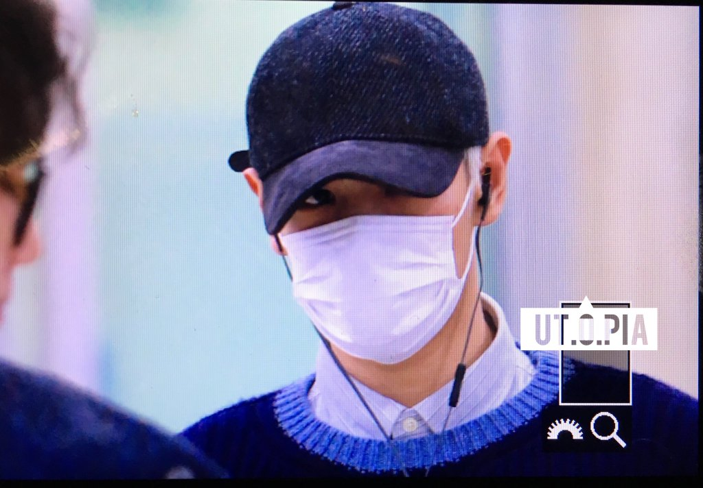 TOP Arrival Seoul From Japan 2016-02-12 (1)