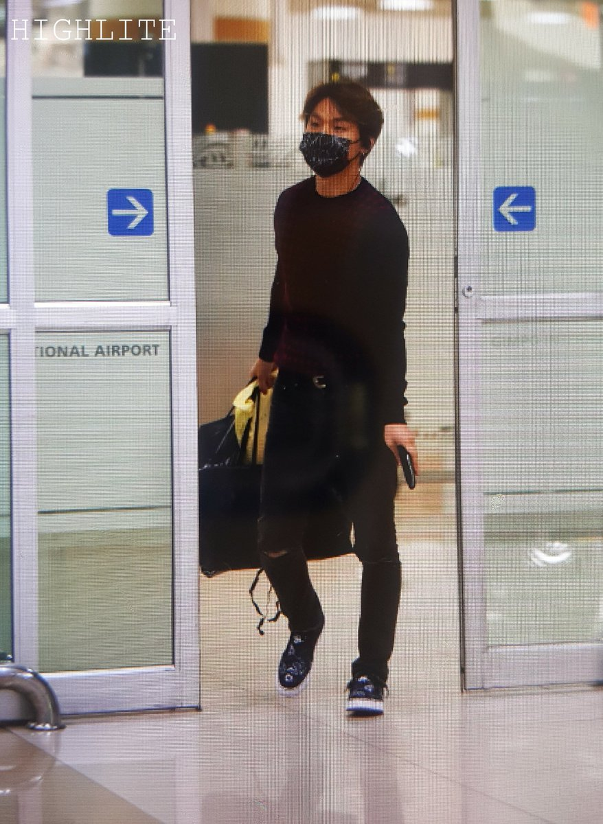 Daesung Arrival Seoul From Tokyo 2016-02-25 (2)