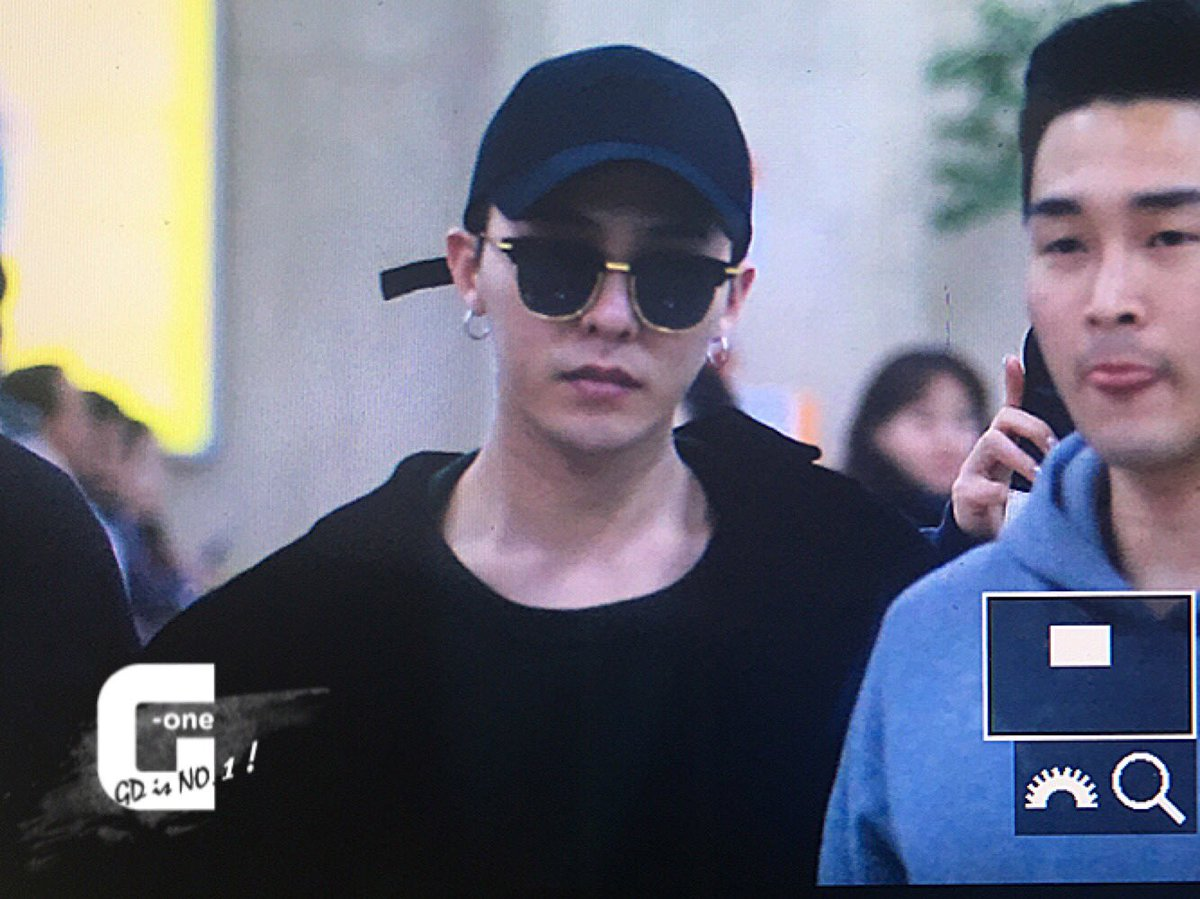 G-Dragon Arrial Seoul Gimpo 2016-02-25 (5)