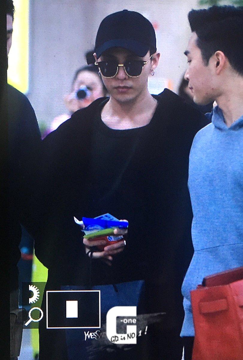 G-Dragon Arrial Seoul Gimpo 2016-02-25 (4)