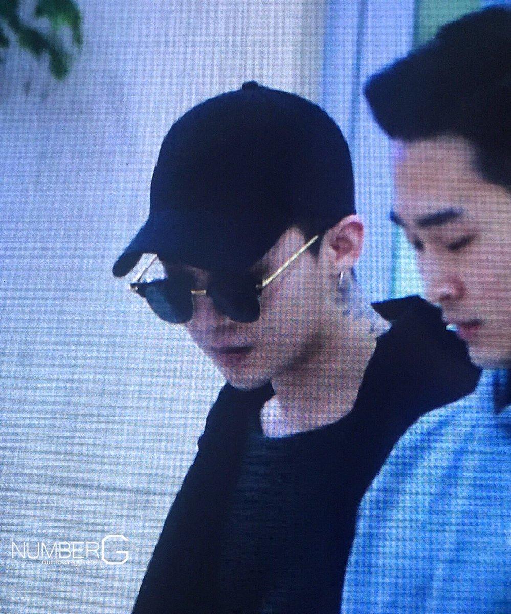 G-Dragon Arrival Seoul Gimpo 2016-02-25