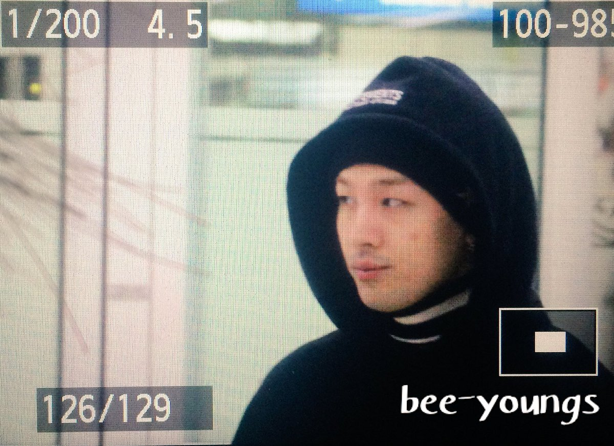 Taeyang Arrival Seoul Gimpo From Tokyo 2016-02-25 (5)
