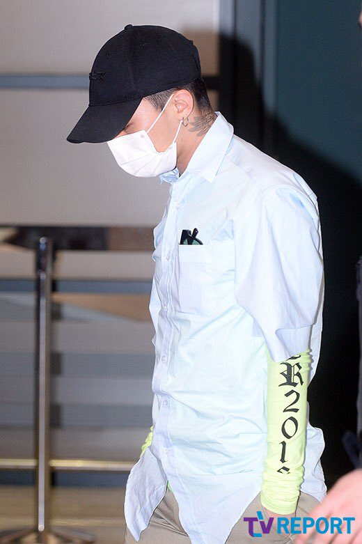 BIGBANG Arrival Seoul Incheon From Shenzhen 2016-03-14 (7)