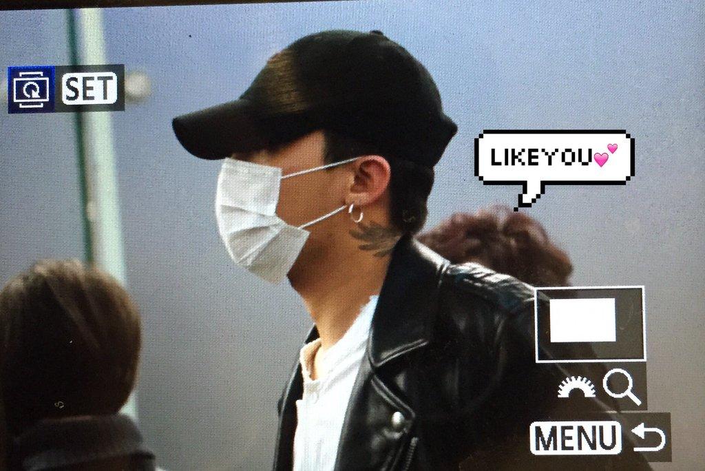 BIGBANG - Incheon Airport - 23mar2016 - Likeyou_GD - 02