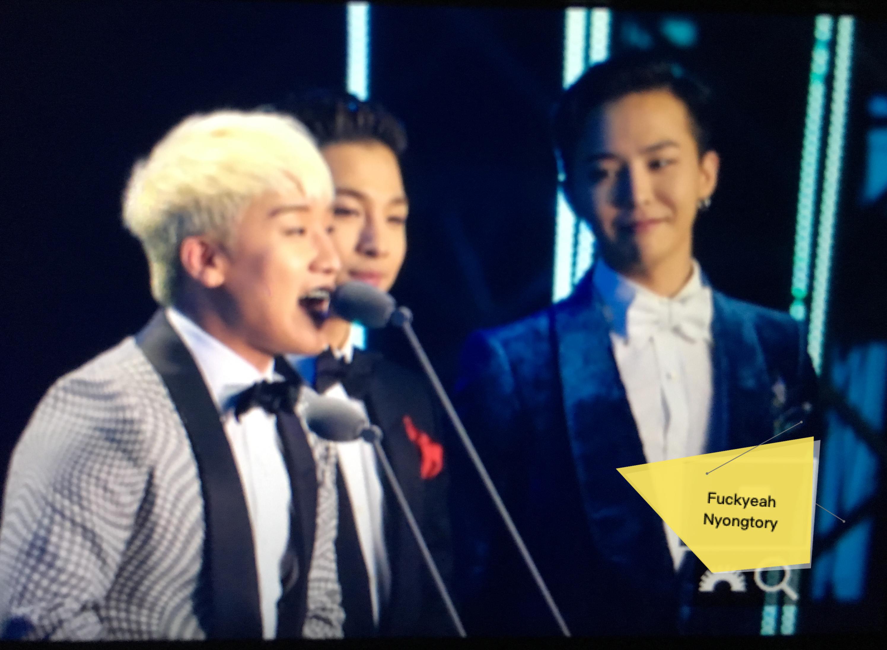 BIGBANG - QQ Music Awards 2016 - 23mar2016 - Fuckyeah_Nyongtory - 01