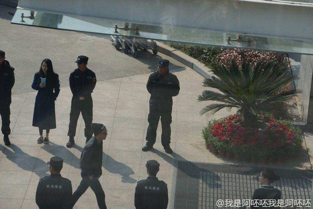 Big Bang - Nanchang Airport - 25mar2016 - Weibo - 02