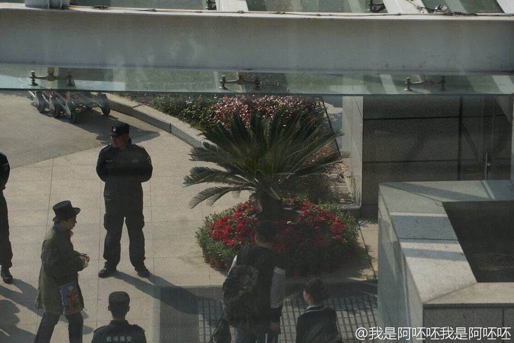 BIGBANG - Nanchang Airport - 25mar2016 - Weibo - 01