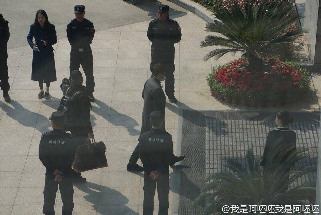 Big Bang - Nanchang Airport - 25mar2016 - Weibo - 04