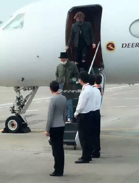BIGBANG Arrival Changsha 2016-03-26 Echoing 妹 (6)