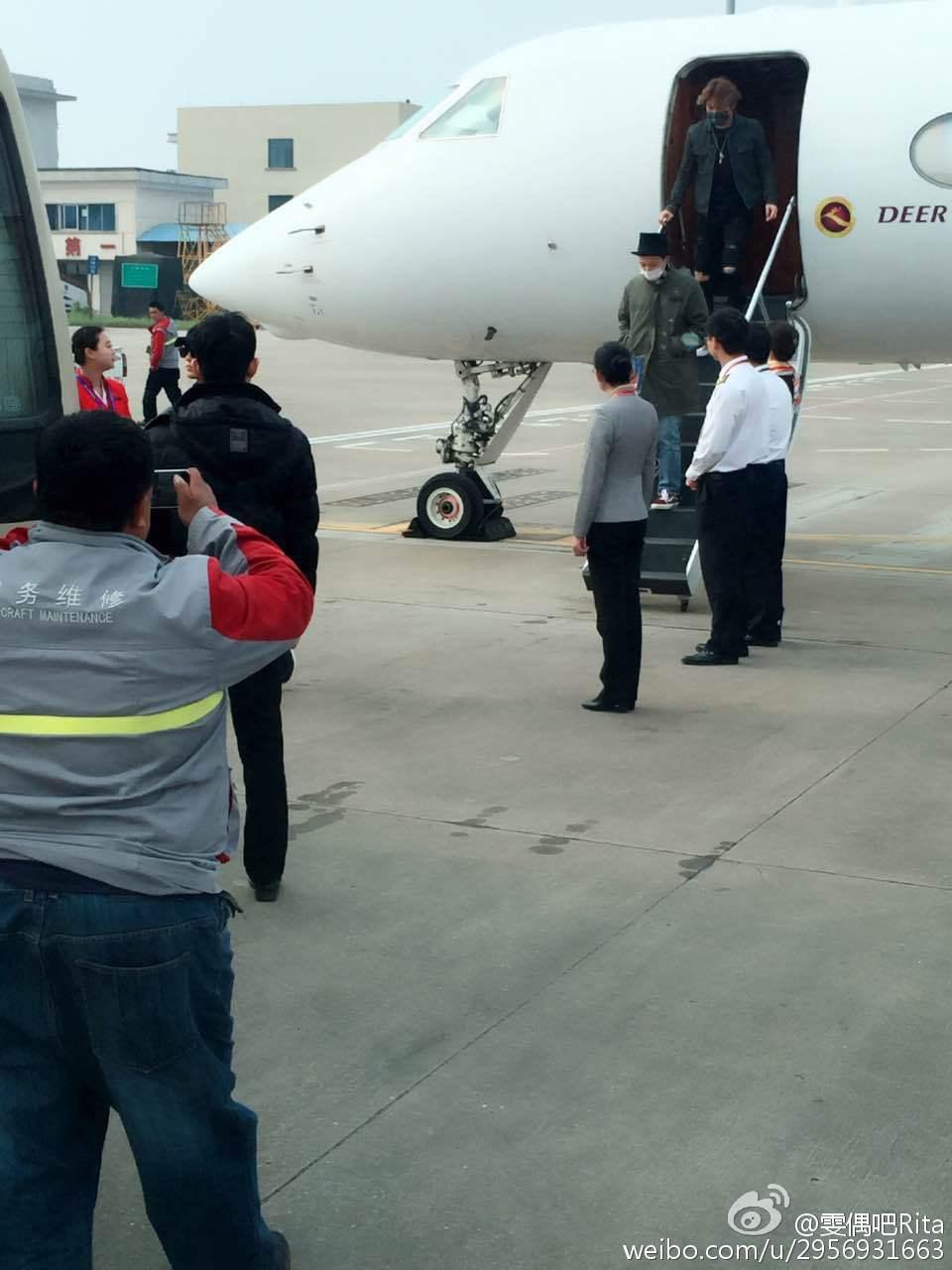BIGBANG Arrival Changsha 2016-03-26 雯偶吧Rita (2)