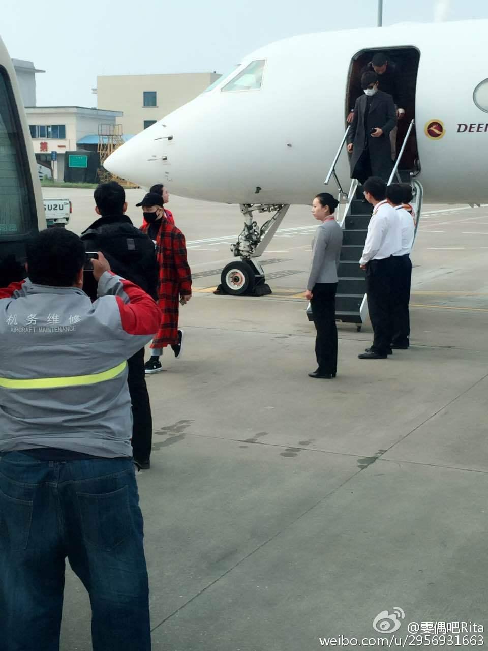 BIGBANG Arrival Changsha 2016-03-26 雯偶吧Rita (3)