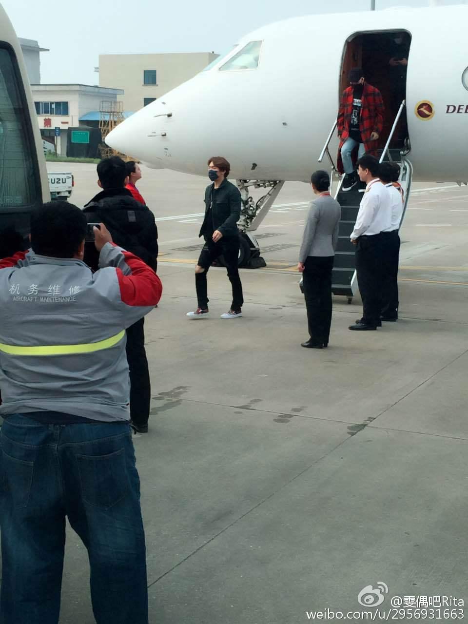 BIGBANG Arrival Changsha 2016-03-26 雯偶吧Rita (1)