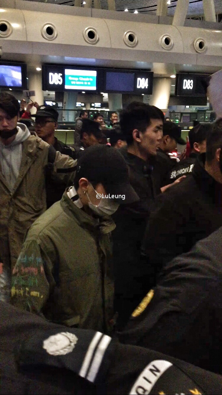 BIGBANG Departure Changsha To Seoul 2016-03-26 (2)