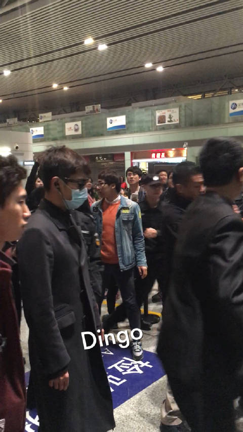 BIGBANG Departure Changsha To Seoul 2016-03-26 (7)