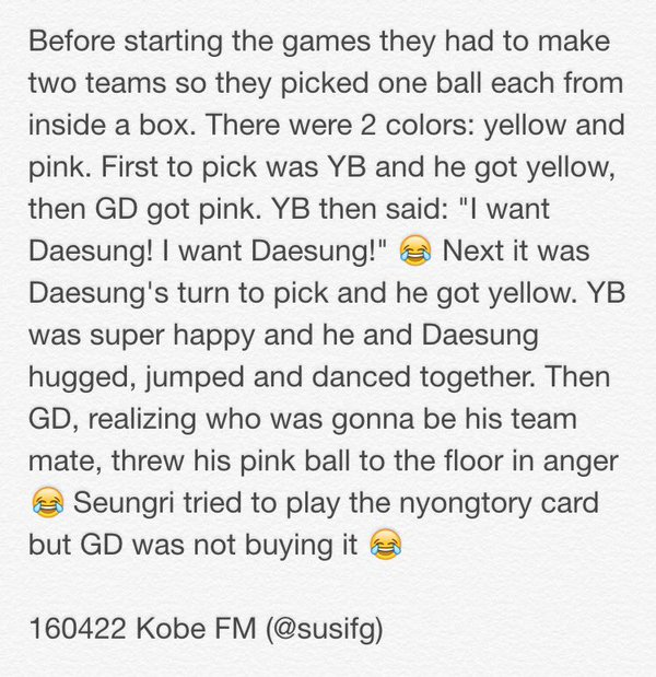 BIGBANG Fan Meeting Kobe Day 1 MShinju Reports (2)