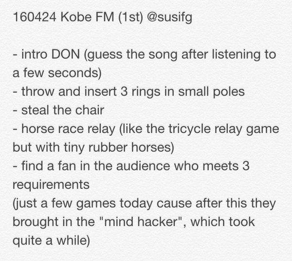 BIGBANG FM Kobe 2016-04-24 Afternoon SusiFG (3)