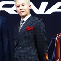 G-Dragon Beijing Motor Show Hyundai 2016-04-25 (10)