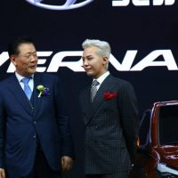 G-Dragon Beijing Motor Show Hyundai 2016-04-25 (26)