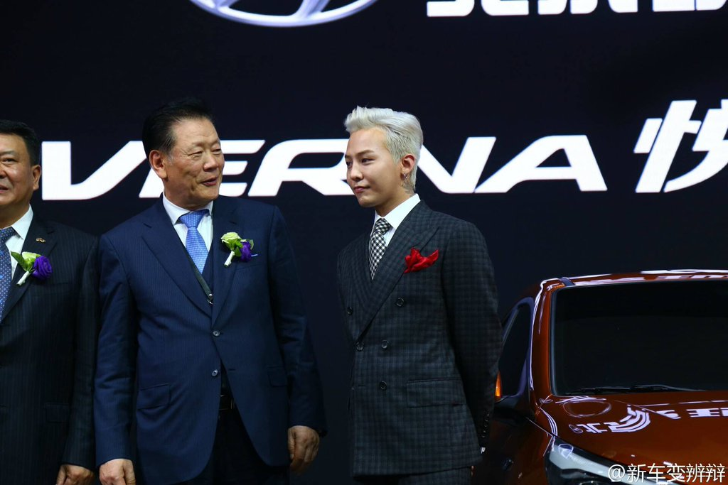 G-Dragon Beijing Motor Show Hyundai 2016-04-25 (31)