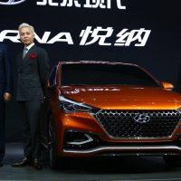 G-Dragon Beijing Motor Show Hyundai 2016-04-25 (42)