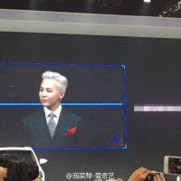 G-Dragon - Hyundai Motor Show - 25apr2016 - Weibo - 01