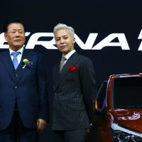 G-Dragon - Hyundai Motor Show - 25apr2016 - 新车变辨辩 - 05