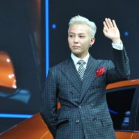 G-Dragon - Hyundai Motor Show - 25apr2016 - Chinanews - 02