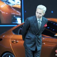 G-Dragon - Hyundai Motor Show - 25apr2016 - Chinanews - 04