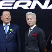 G-Dragon - Hyundai Motor Show - 25apr2016 - 537250090102wakr - 11
