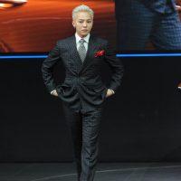 G-Dragon - Hyundai Motor Show - 25apr2016 - 537250090102wakr - 03