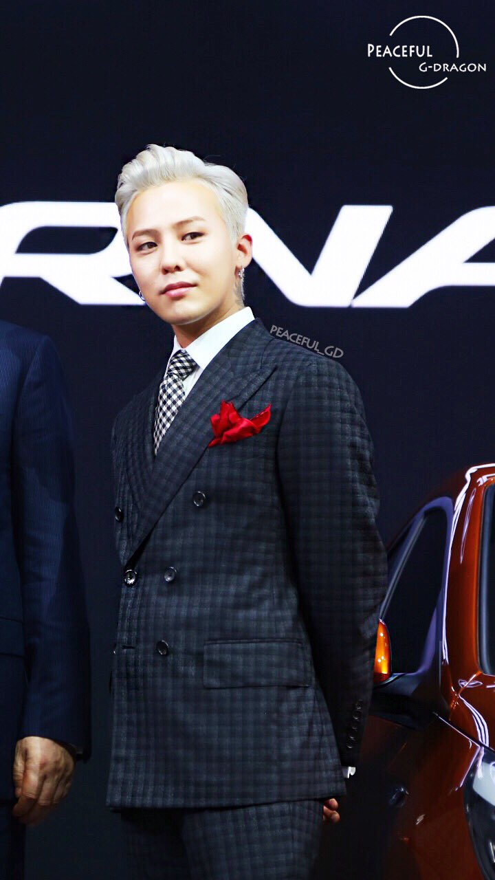 G-Dragon - Hyundai Motor Show - 25apr2016 - Peaceful__GD - 1