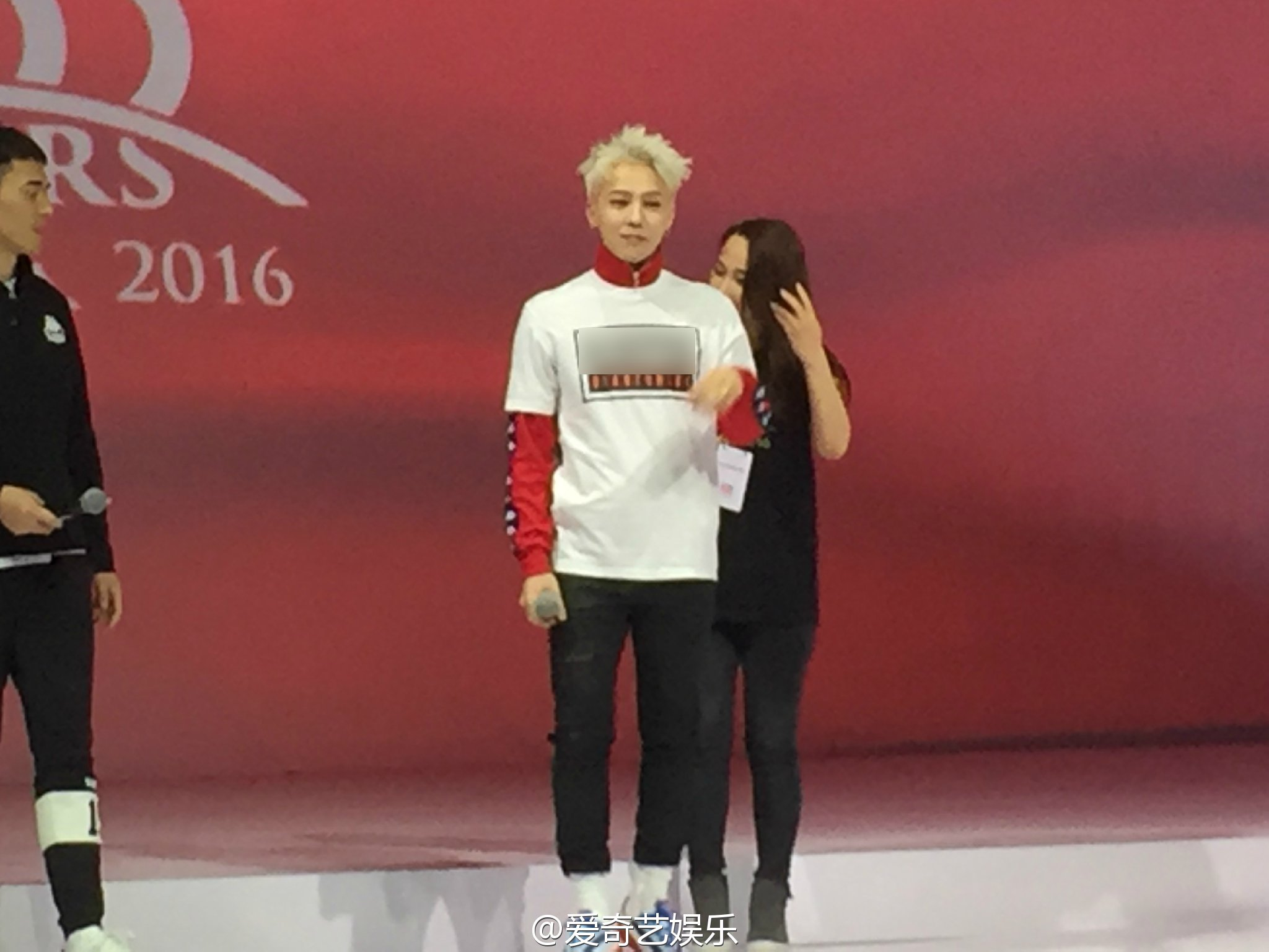 G-Dragon - Kappa 100th Anniversary Event - 26apr2016 - Qiyiyule - 04