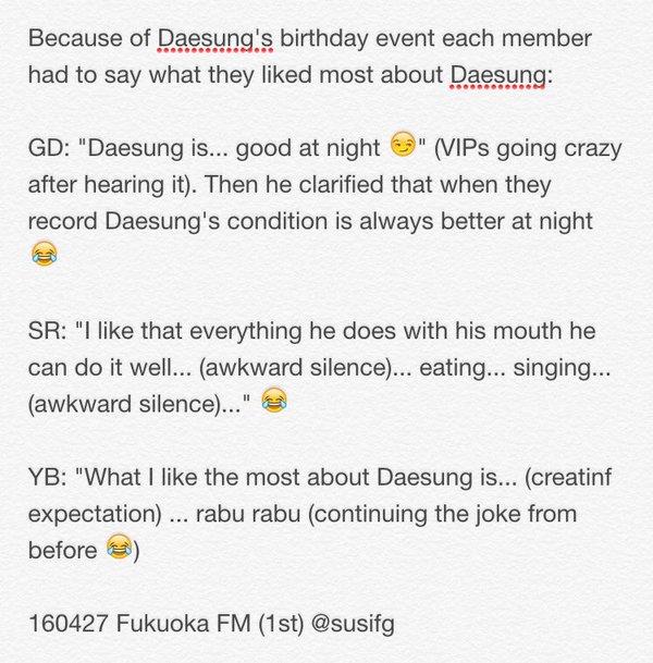 Fukuoka FM BIGBANG 2016-04-27 Event 1 And 2 (5)
