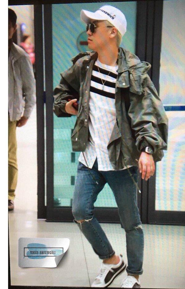 Seungri Arrival Seoul ICN From Hanoi 2016-04-03 (2)