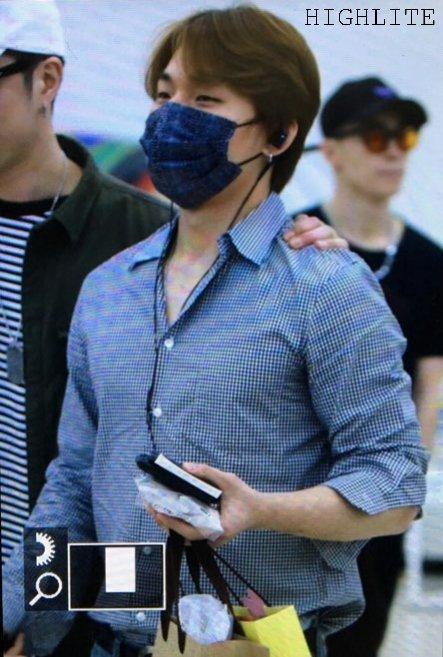 Daesung And Taeyang Arrival Seoul 2016-05-30 (10)