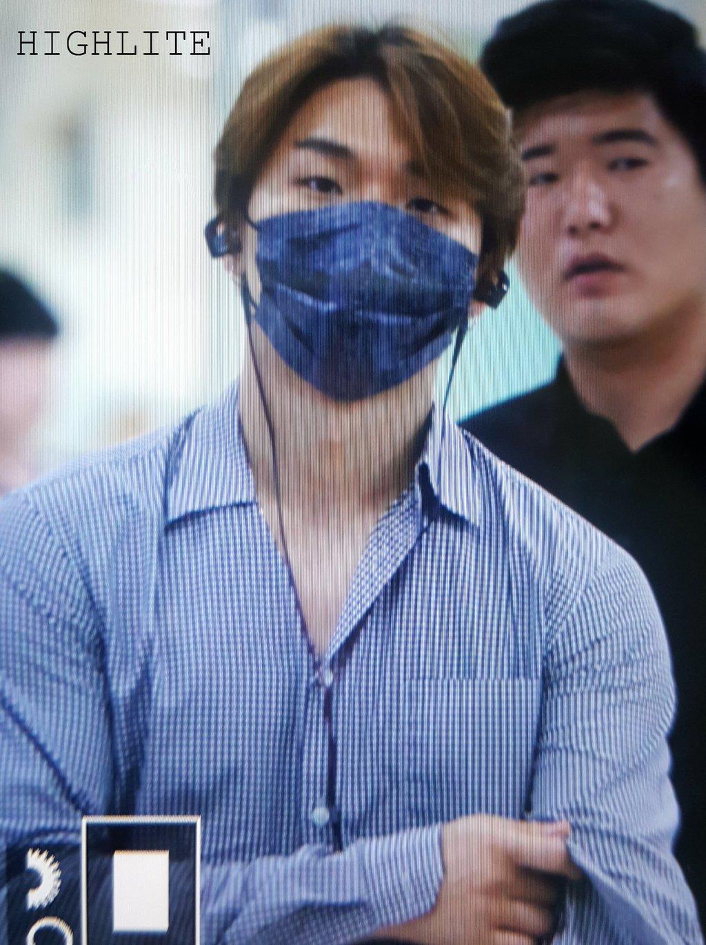 Daesung And Taeyang Arrival Seoul 2016-05-30 (12)