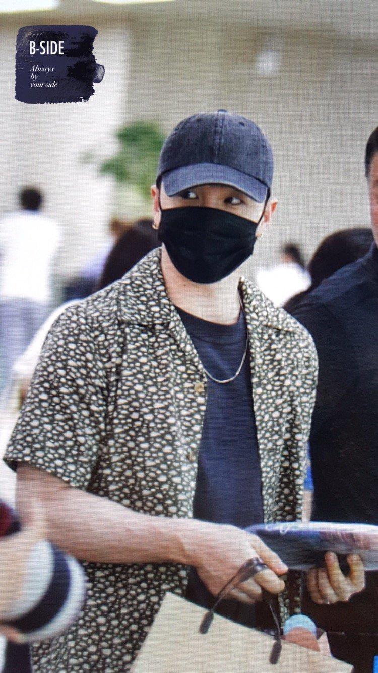 Daesung And Taeyang Arrival Seoul 2016-05-30 (15)