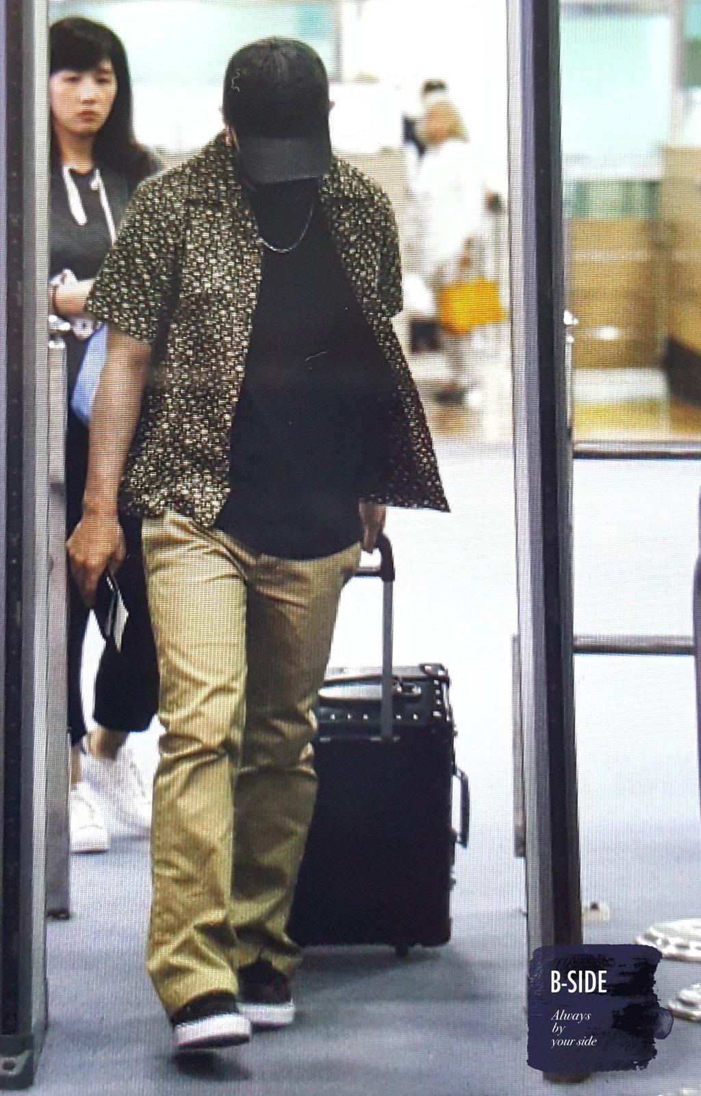 Daesung And Taeyang Arrival Seoul 2016-05-30 (16)