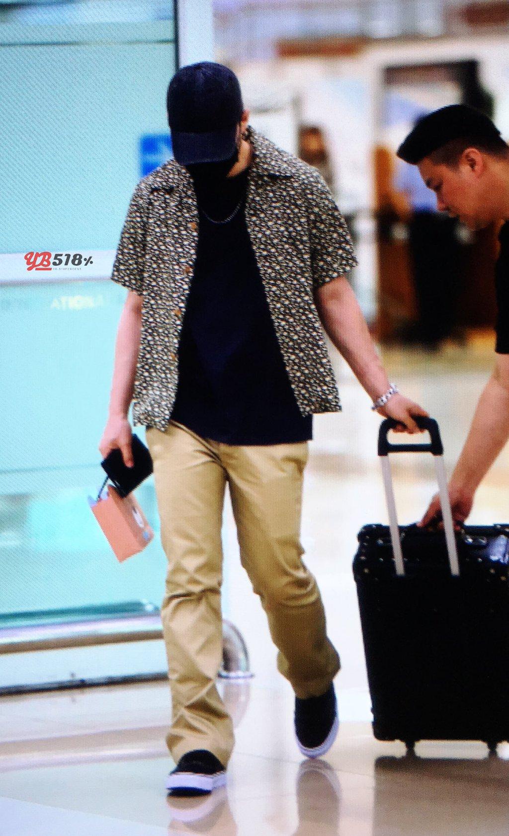 Daesung And Taeyang Arrival Seoul 2016-05-30 (22)