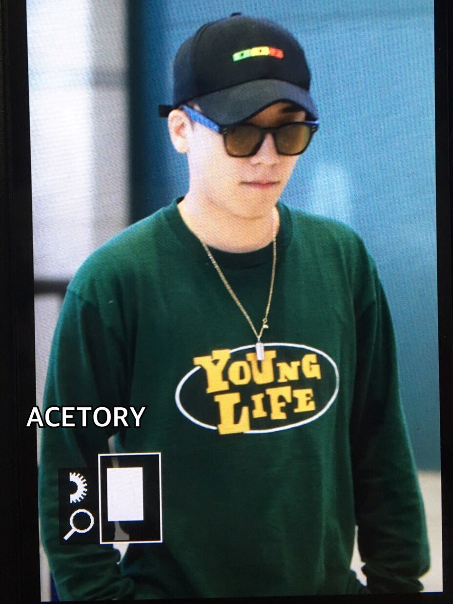 Seung Ri - Incheon Airport - 16jun2016 - Acetory - 02