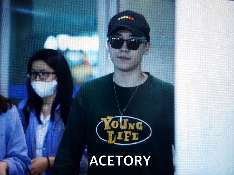 Seung Ri - Incheon Airport - 16jun2016 - Acetory - 03